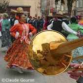 Mexican festival, Barcelonnette