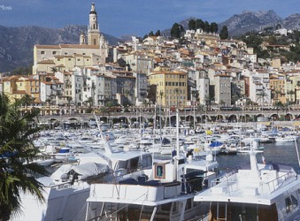 Port at Menton