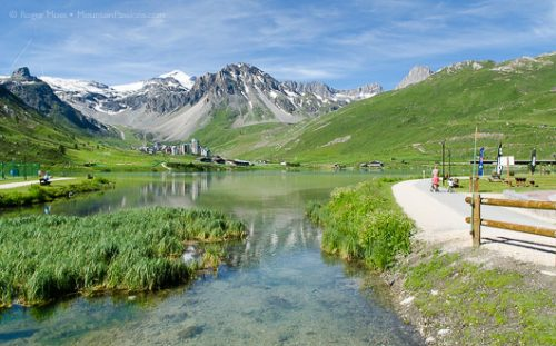 Tignes Le Lac in summer