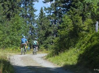 Mountain biking, French Alps