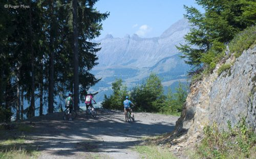 Mountain biking from Les Saisies