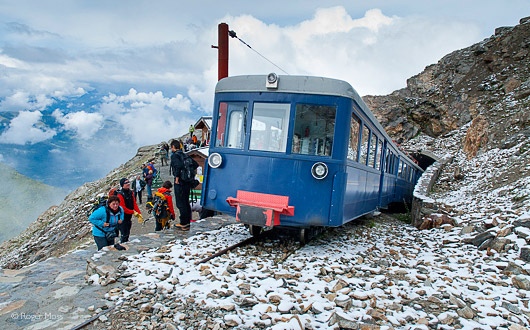 Ride the Tramway du Mont Blanc