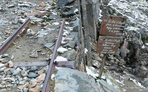 Tramway du Mont Blanc - the end of the line