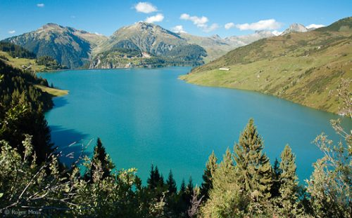 The Lac de Roselend, Beaufortain