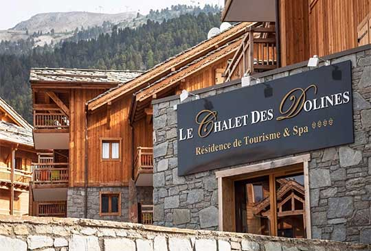 Chalet des Dolines, Montgenevre - pictured in summer.