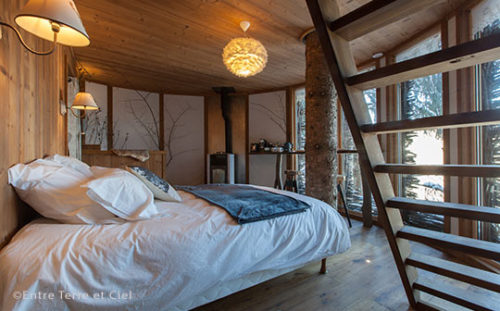 Cabin Entre Terre at Ciel, Val d'Arly, French Alps - interior