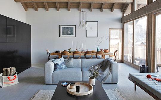 Chalet Home, St Martin de Belleville, lounge interior