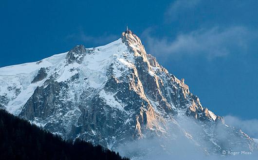 Ascent to the Aiguille du Midi
