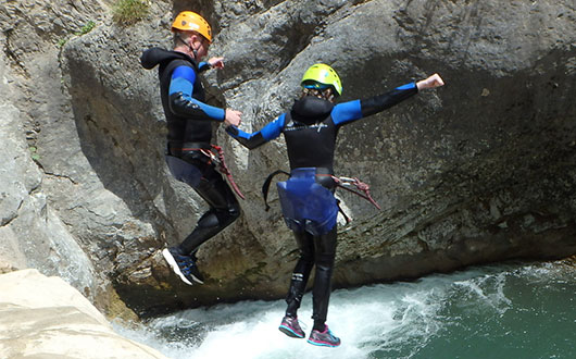 All About Canyoning